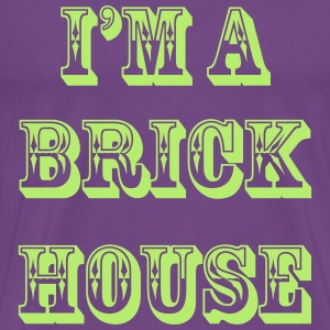 BRICK HOUSE (WIFE) - S5 T-Shirts - Men's Premium T-Shirt