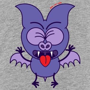 Purple Bat Feeling Disgusted Kids' Shirts - Kids' Premium T-Shirt