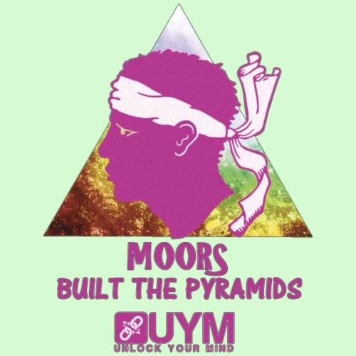 UYM Moors Built The Pyramids Purple Rainbow