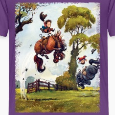 PonyRodeo Thelwell Cartoon Kids' Shirts