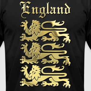 The Royal Arms of England - Men's T-Shirt by American Apparel
