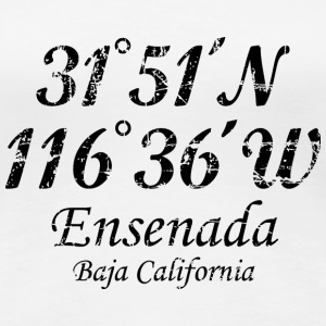 Ensenada, Baja California T-Shirt Vintage Black - Women's Premium T-Shirt