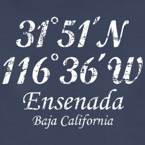 Ensenada, Baja California T-Shirt Vintage White - Women's Premium T-Shirt
