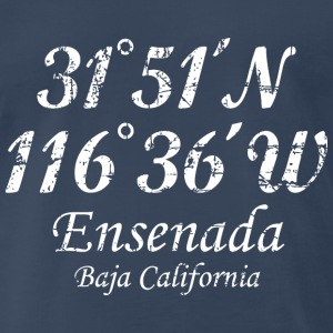 Ensenada, Baja California T-Shirt Vintage White - Men's Premium T-Shirt