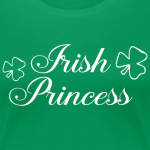 St Patricks Day Irish Princess - Women's Premium T-Shirt