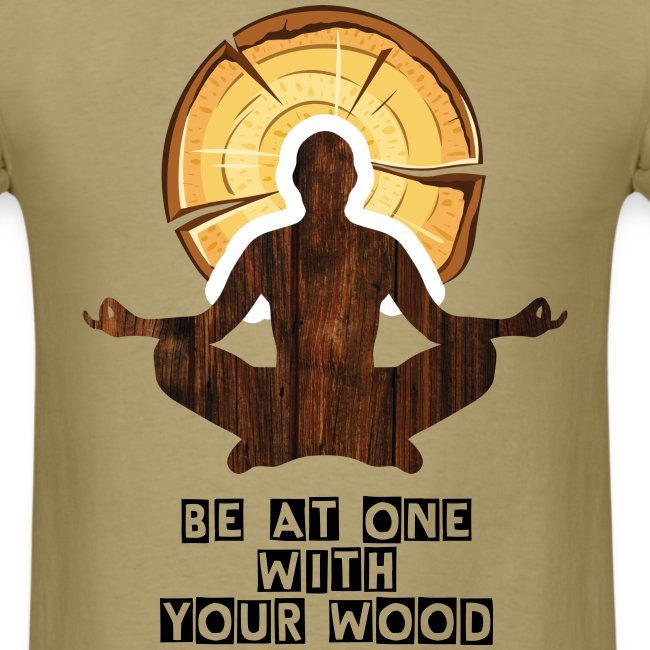 One Wood Logo T Shirt