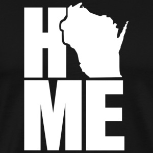 Awesome Wisconsin Home Pride Proud Apparel Shirts T-Shirts - Men's Premium T-Shirt