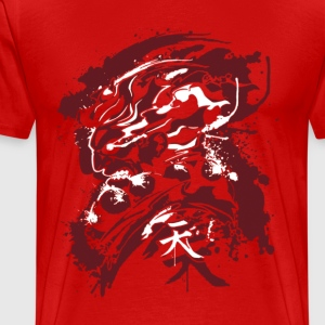 attack titan grunge - Men's Premium T-Shirt