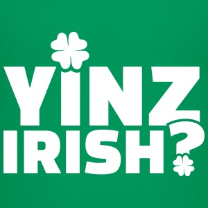 Yinz Irish Kids' Shirts - Kids' Premium T-Shirt