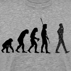 Binary Evolution Cell Shirt - Men's Premium T-Shirt