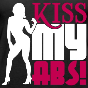 Kiss my abs Tanks - Women's Premium Tank Top
