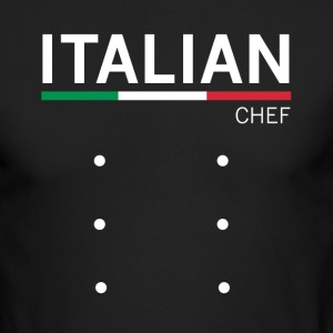 Italian chef - Men's Long Sleeve T-Shirt by Next Level
