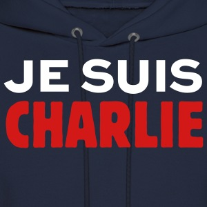 T-shirt Nous sommes Charlie T-Shirts Hoodies - Men's Hoodie