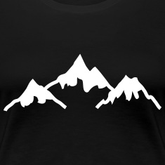 mountains Women's T-Shirts
