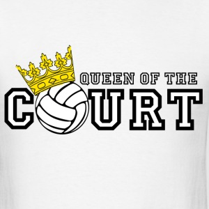 Queen of the Court T-Shirts - Men's T-Shirt