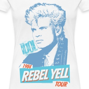Rebel Yell Billy Idol Women's T-Shirts - Women's Premium T-Shirt