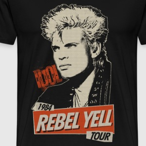 Rebel Yell Billy Idol T-Shirts - Men's Premium T-Shirt