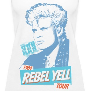 Rebel Yell Billy Idol Tanks - Women's Premium Tank Top