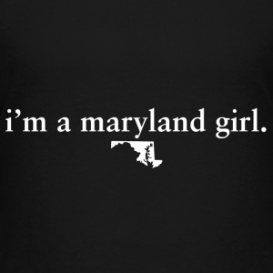 Maryland Girl Pride Proud T-shirt tee top shirt Kids' Shirts - Kids' Premium T-Shirt