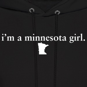 Minnesota Girl Pride Proud T-Shirt Tee Top shirt Hoodies - Men's Hoodie