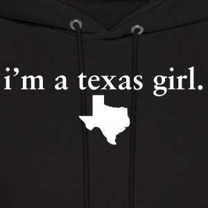 Texas Girl Pride Proud T-Shirt Tee Top Shirts Hoodies - Men's Hoodie