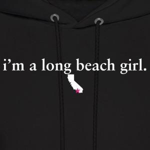 Long Beach Girl Pride Proud T-Shirt Tee Top Shirt Hoodies - Men's Hoodie