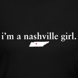 Nashville Girl Pride Proud T-Shirt Tee Top Shirt Long Sleeve Shirts - Women's Long Sleeve Jersey T-Shirt
