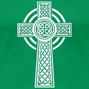 Celtic cross Women's T-Shirts - Women's Premium T-Shirt