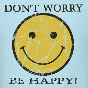 Don't worry be happy - Men's T-Shirt