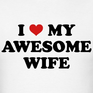 I Love My Wife T-shirts - T-shirt pour hommes