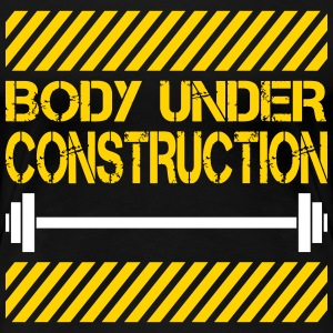 Body under construction Women's T-Shirts - Women's Premium T-Shirt
