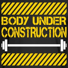 Body under construction Long Sleeve Shirts