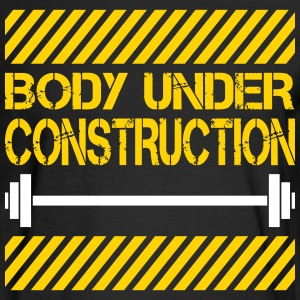 Body under construction Long Sleeve Shirts - Men's Long Sleeve T-Shirt