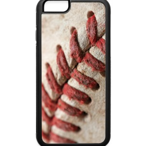 iPhone 6 Rubber Case Baseball Stitching - iPhone 6/6s Rubber Case