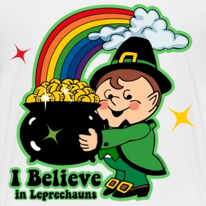Believe In Leprechauns Kids' Shirts - Kids' Premium T-Shirt