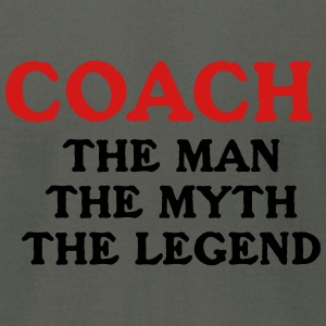 Coach Instructor Myth GYM  Legend - Men's T-Shirt by American Apparel