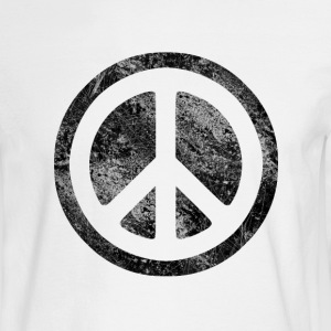 Peace Symbol-dissd - Men's Long Sleeve T-Shirt