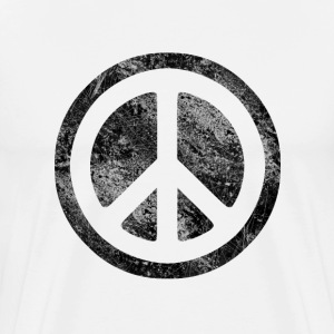 Peace Symboldissd - Men's Premium T-Shirt