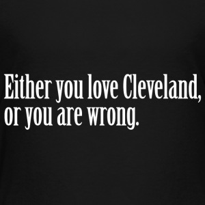 Cleveland Love Pride Proud T-Shirt Tee Top Shirt Baby & Toddler Shirts - Toddler Premium T-Shirt