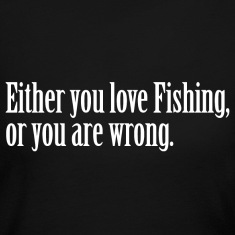 Fishing Love Pride Proud T-Shirt Tee Top Shirt Long Sleeve Shirts