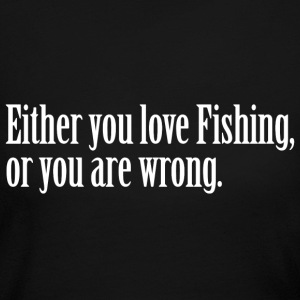 Fishing Love Pride Proud T-Shirt Tee Top Shirt Long Sleeve Shirts - Women's Long Sleeve Jersey T-Shirt