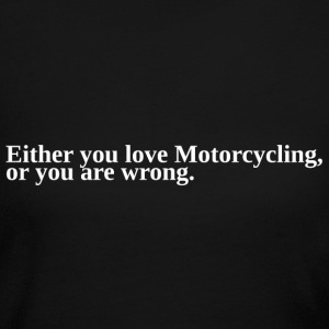 Motorcycling Love Pride T-Shirt Tee Top Shirt Long Sleeve Shirts - Women's Long Sleeve Jersey T-Shirt
