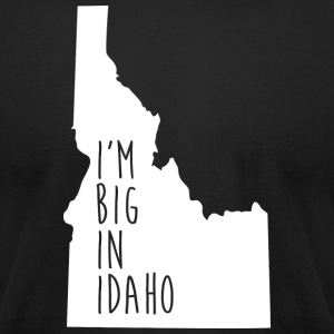 Idaho Big Pride Proud T-Shirt Tee Top Shirt T-Shirts - Men's T-Shirt by American Apparel