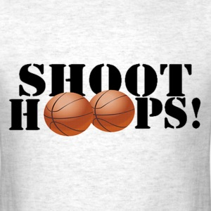 Shoot Hoops T-Shirts - Men's T-Shirt