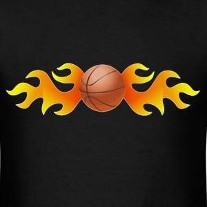 Basketball flames T-Shirts - Men's T-Shirt