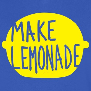 Make Lemonade T-Shirts - Men's V-Neck T-Shirt by Canvas