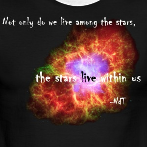 The Stars Live Within Us T-Shirts - Men's Ringer T-Shirt