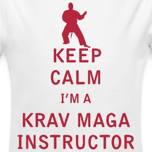 Keep Calm I'm a Krav Maga Instructor - Long Sleeve Baby Bodysuit