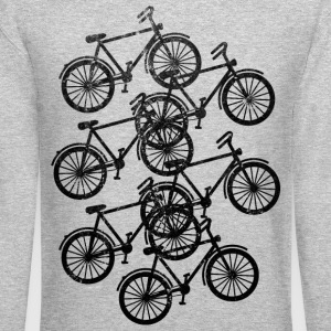 bikes Long Sleeve Shirts - Crewneck Sweatshirt