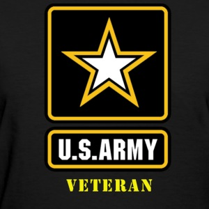 US Army Veteran Woman's Shirt - Women's T-Shirt